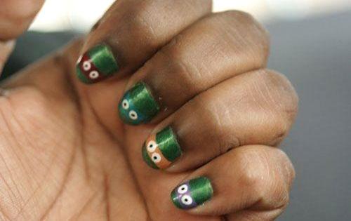 Ninja Turtle Nail Polish