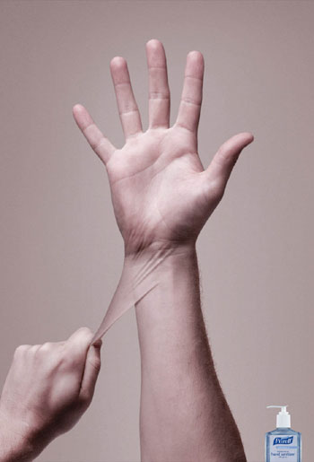 Purell Hand Sanitizer Print Advertisement