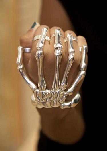 Hand Bones Bracelet