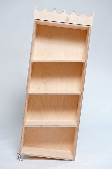 Figurine Bookcase Foot