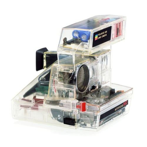 Transparent Polaroid Camera Case