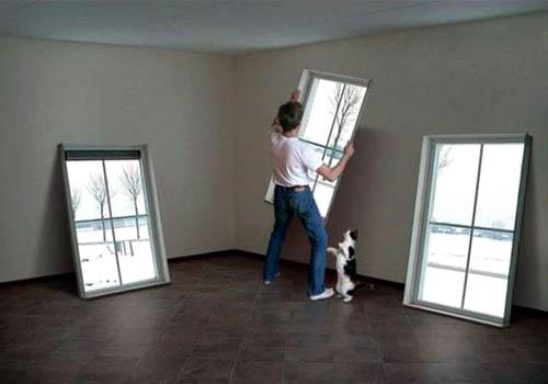 Fake Window Wall Hangings
