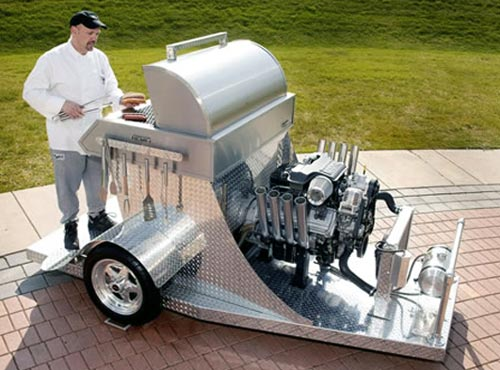 Heavy-Duty Hemi Barbeque