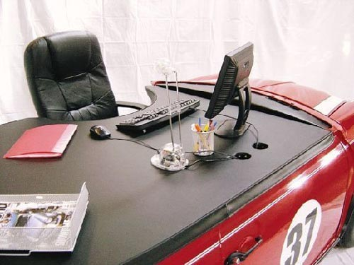Mini Cooper Office Desk Top Front
