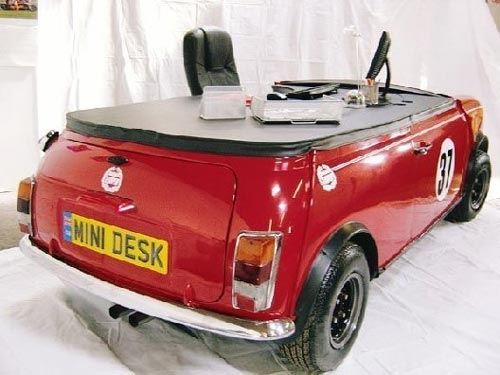 Mini Cooper Office Desk Back