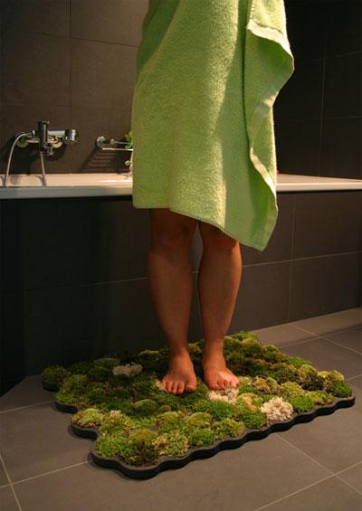 Mossy Shower Mat