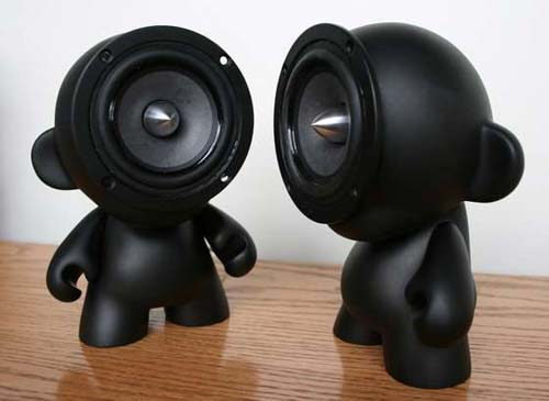DIY Munny Doll Speakers