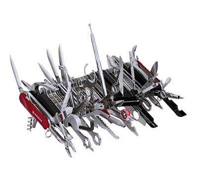 All Purpose 85 Tool Swiss Army Knife
