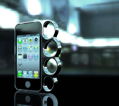 Brass Knuckles Phone Case