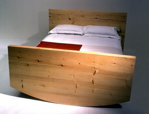 Full-Size Rocking Cradle Bed