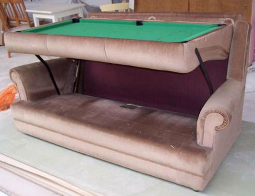 Hide-A-Bed Pool Table
