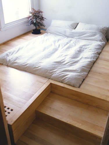 Sunken Bed Design