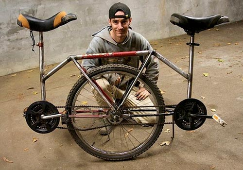 Two Person Unicycle Design