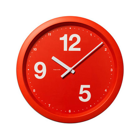 Nine To Five and Noon Work Clock