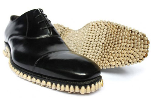Teeth Sole Shoes