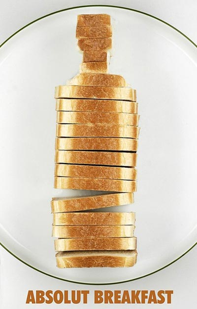 Absolut Bread Artwork