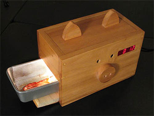 Wake Up To The Smell Of Bacon Alarm Clock