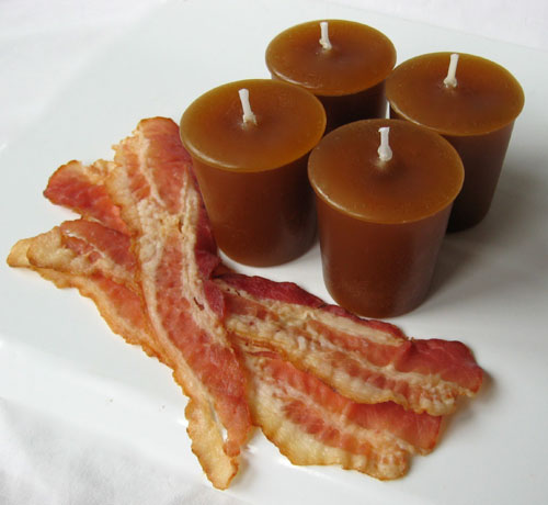 Bacon Scented Candles