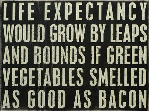 Life Expectancy Would Grow By Leaps And Bounds If Green Vegetables Smelled As Good As Bacon