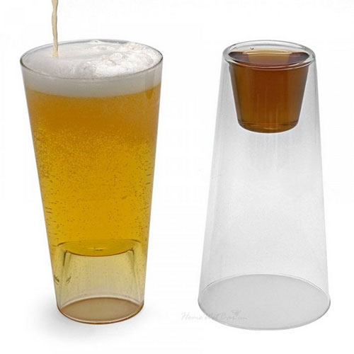 Beer & Shot Glass