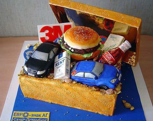 Corporate Brands Cake