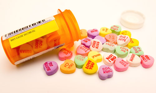 Candy Heart Pills