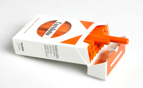 Carrot Cigarette Sticks