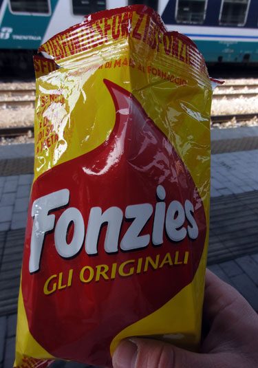 Fonzi Potato Chips