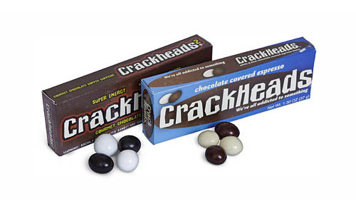 Crackheads Candy | Chocolate Covered Espresso Beans