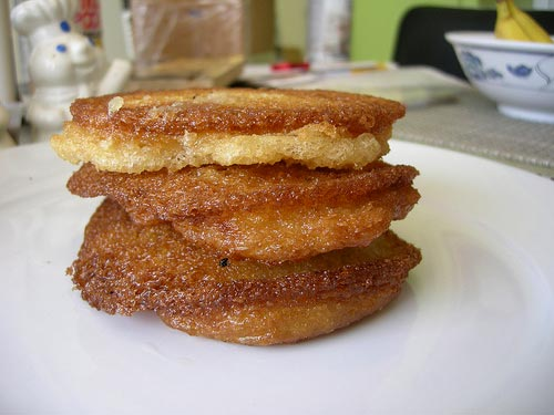 Deep-Fried Pancake Breakfast