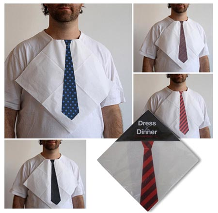 Dress The Dinner Necktie Napkins