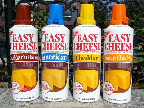 Spray Can Cheese