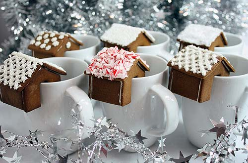 Hot Chocolate Gingerbread Cookies