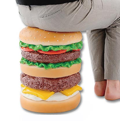 Hamburger Stool