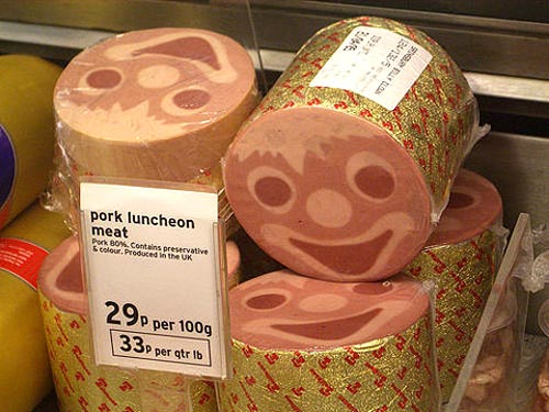 Happy Face Luncheon Meat