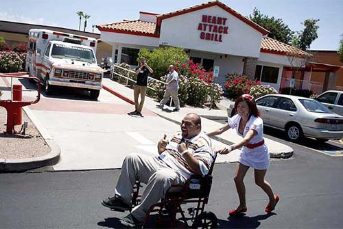 The Heart Attack Grill in Chandler, Arizona