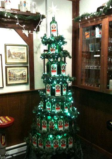 Jagermeister Christmas Tree