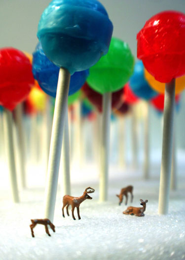 Lollipop Forest Print