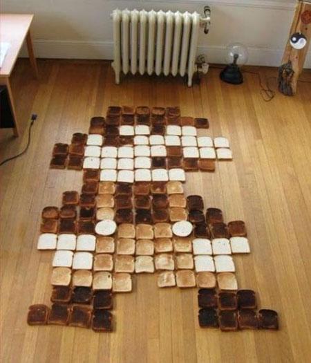 Mario Toast