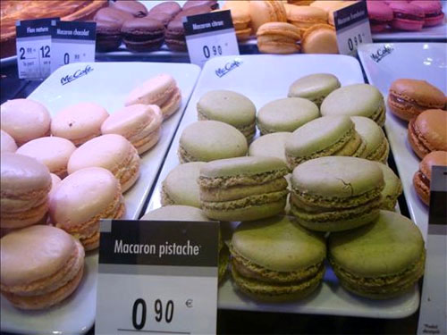 McDonalds Macarons in Paris, France