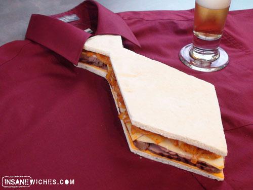 Necktie Sandwich