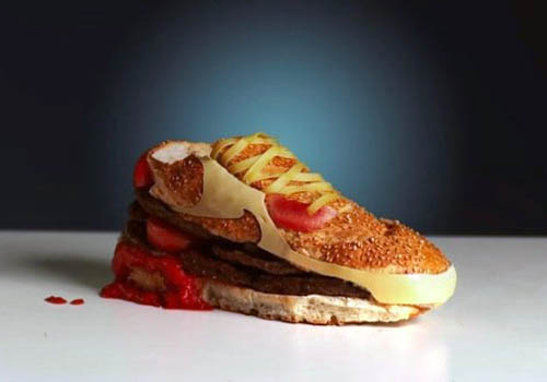 Nike Shoe Cheeseburger