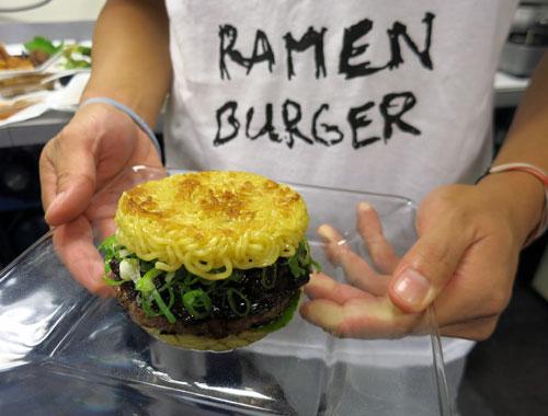 Go Ramen Noodle Burger Smorgasburg Debut
