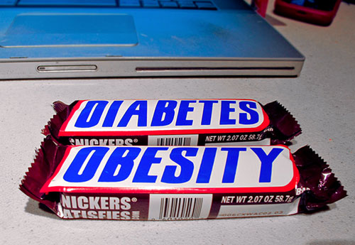 Diabetes and Obesity Chocolate Bars