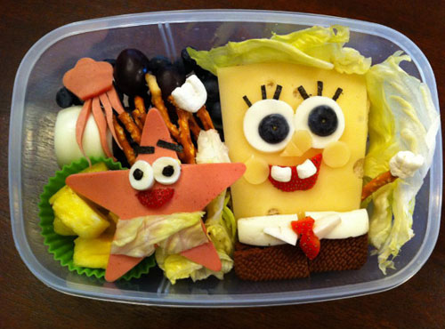 Spongebob Bento Kyaraben