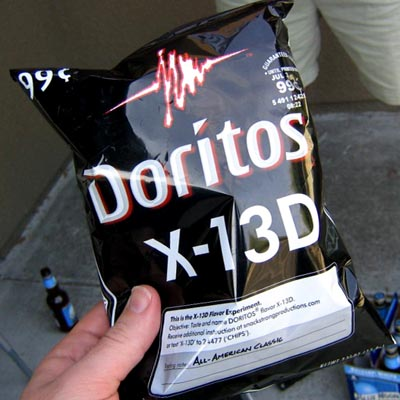 Name The Doritos Flavor, 2007 | With An 'All American Classic' Hint