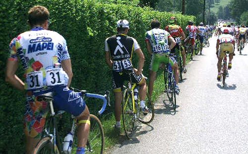 Bicycle Race Pit Stop