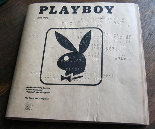Playboy Braille Edition
