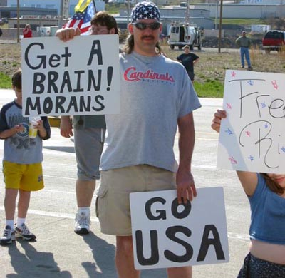 Go USA Sign | Get A Brain Morans Sign