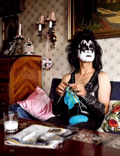 KISS Rocker Knitting
